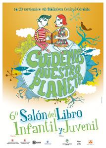 Cartel del VI Salón del Libro Infantil y Juvenil