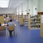 Sala de obras literarias en la Biblioteca Central