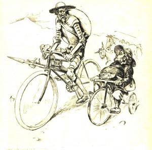 quijote-sancho-bicicletas