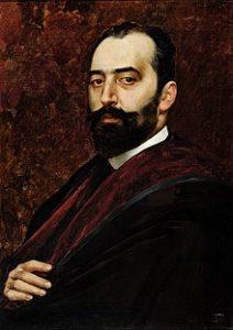 Retrato de A. Avilés por Mejia Márquez